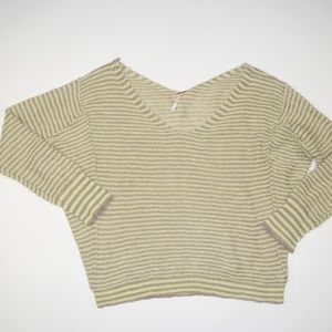 Free People Comfy Striped Sweater